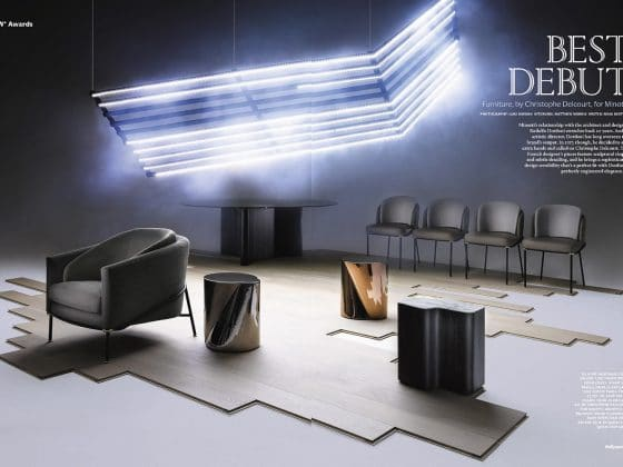 "M-Studio Reiter Altenmarkt | Minotti gewinnt Wallpaper Design Award ""Best Debut"" 2018 image 2"