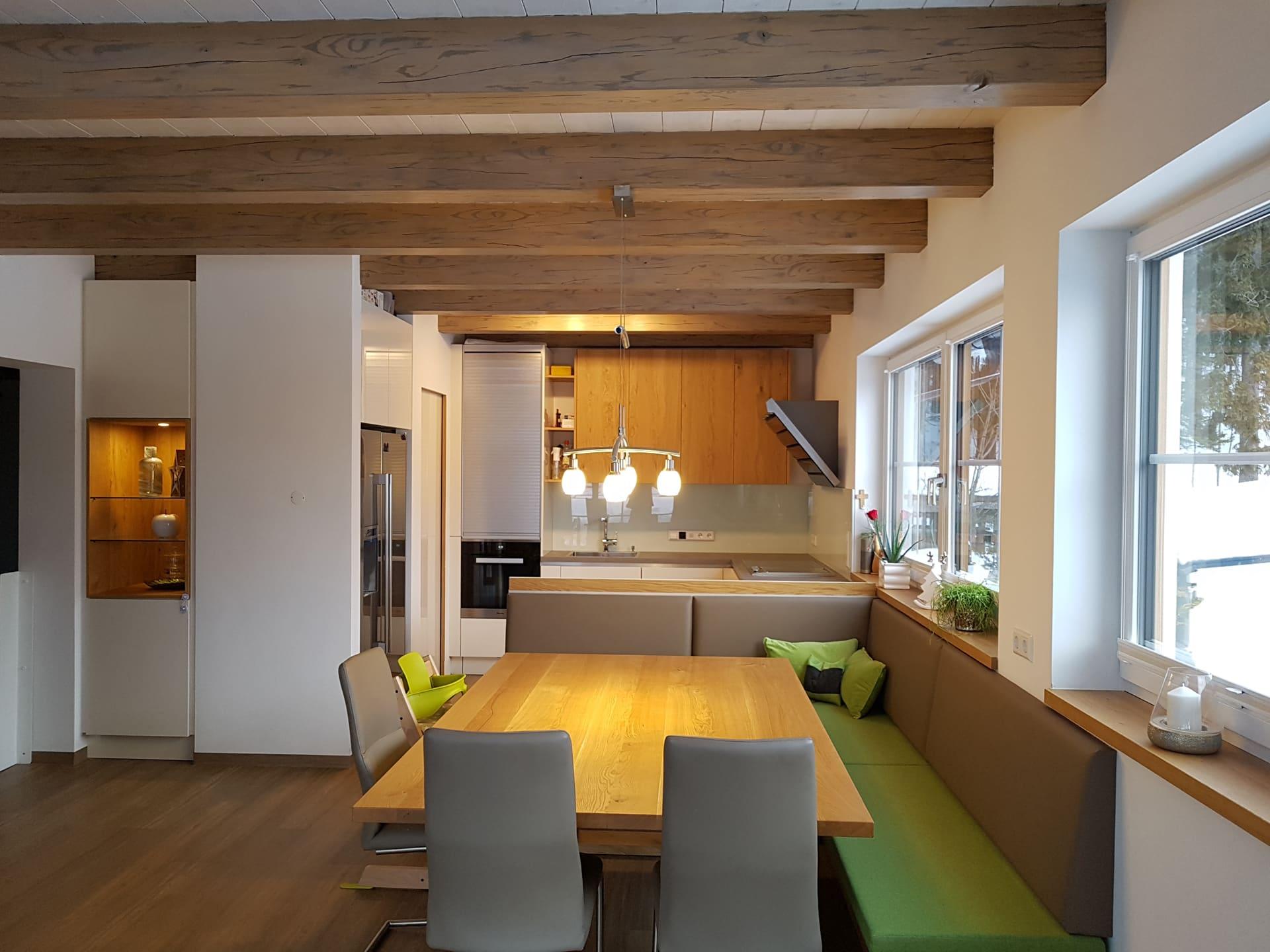 k che mit eckbank und tisch m studio reiter altenmarkt. Black Bedroom Furniture Sets. Home Design Ideas