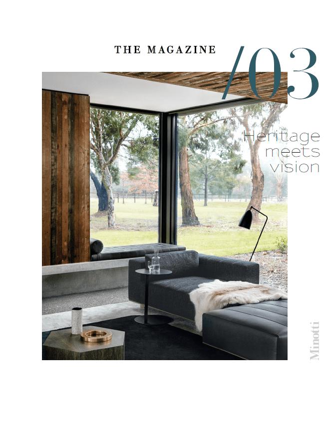 Das neue Minotti Magazin 03