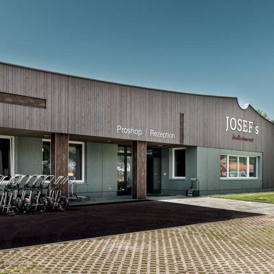 Das neue Golfclubhaus Radstadt