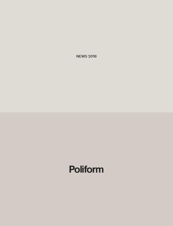 Der neue Poliofrm Katalog 2018/1