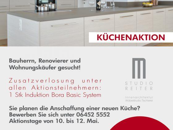Küchenaktion bei M-Studio Reiter