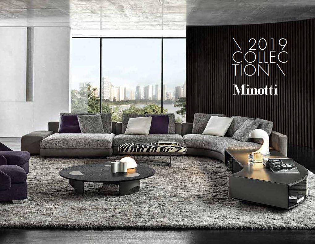Die Minotti Kollektion 2019 im M-Studio Reiter