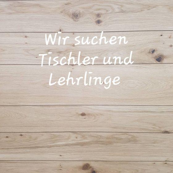 Tischlerei Reiter sucht Mitarbeiter im Bereich Tischlerei Möbelbau