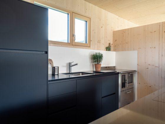 Poliform Küche Alea in schwarz by M-Studio Reiter