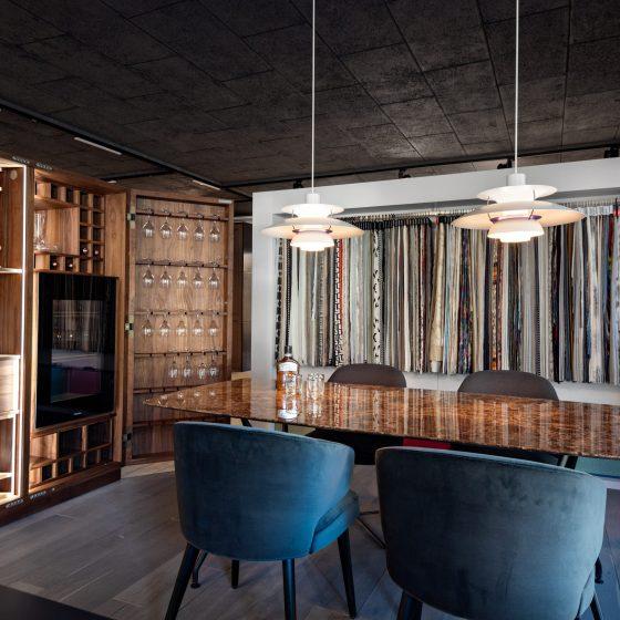 Weinschrank im M-Studio Reiter