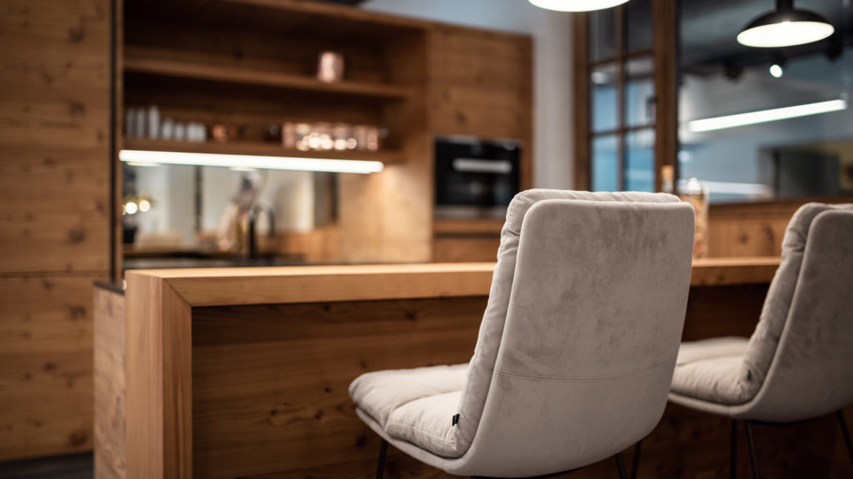 Tischlerküche von M-Studio Reiter